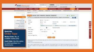 How to buy stocks on ICICIdirect.com