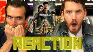 DRISHYAM Ajay Devgn Trailer REACTION