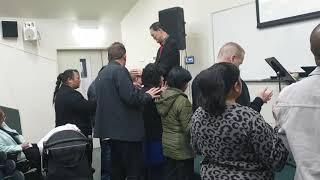 Pastor Bernard Ong at Pakenham Christian Church Specific Prayer