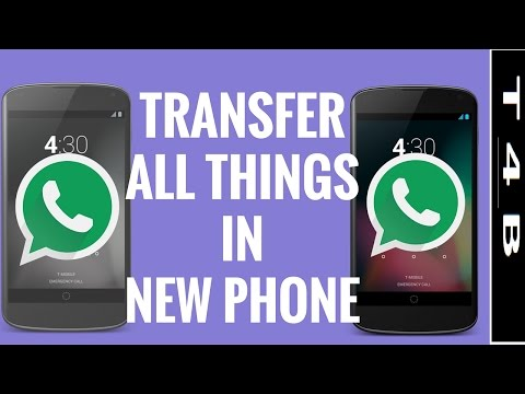 Transfer WhatsApp messages from android old to new android phone restore chats