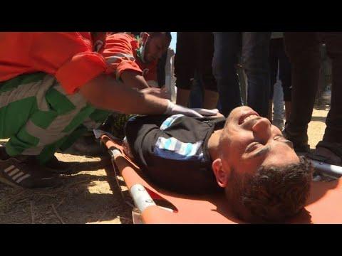 Abbas condemns Israeli 'massacres' after Gaza violence