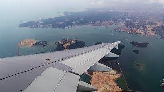 Посадка в Сингапуре A320 Scoot