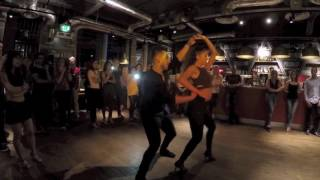 Juan Soto and Julia Ruiz -  Bachata Sensual Impro, London UK