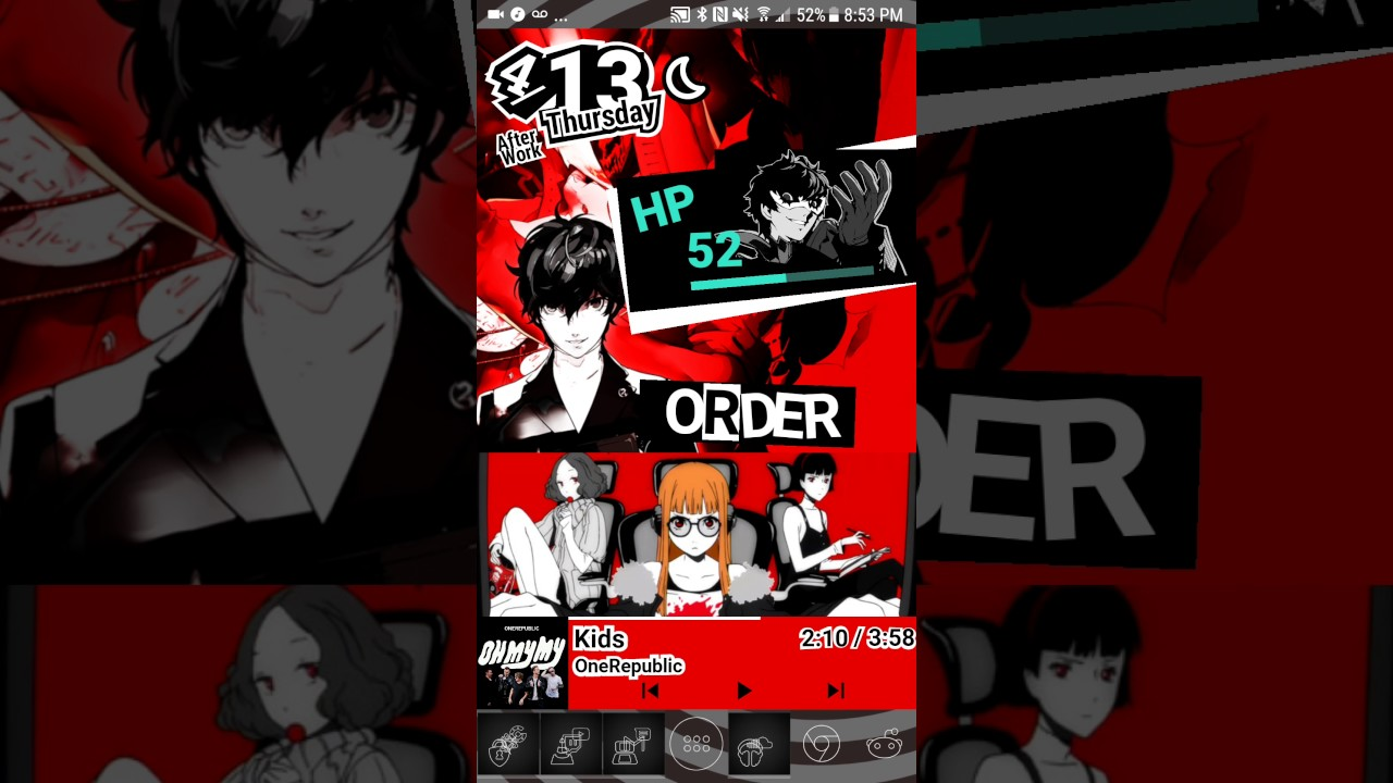 Animated Persona 5 Background By Bolexle
