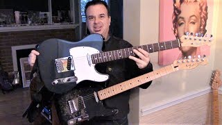 Fender Telecaster Comparison American & Mexican Made Review by Ivan Katz