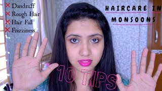 Monsoon Haircare Tips (Easy and Practical) | Get Glossy and Healthy Hair