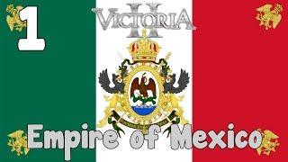 Victoria 2 HFM mod - Empire of Mexico 1