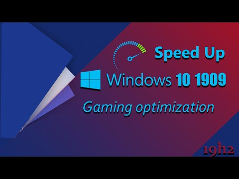 Windows 10 1909 | Speed Up | Gaming Optimization |