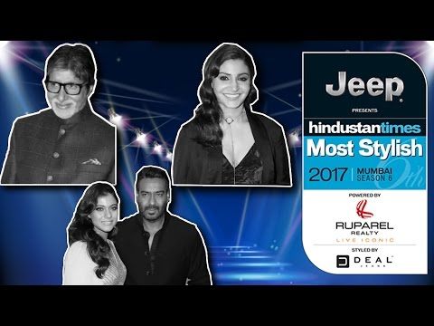 HT Most Stylish Awards 2017 - Full Show - Amitabh Bachchan, Ajay Devgan, Kajol, Anushka Sharrma
