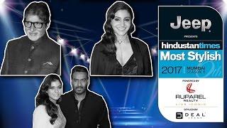 HT Most Stylish Awards 2017 - Full Show - Amitabh Bachchan, Ajay Devgan, Kajol, Anushka Sharrma