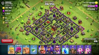 Clash of clans | loot attack on TH11 dead base | epic dead base loot🔥