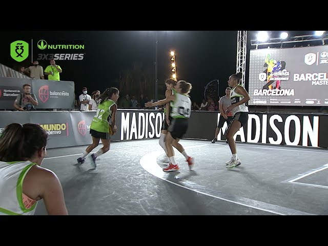 Top 3 mejores jugadas final femenina Master Final Barcelona Herbalife 3x3 Series 2021