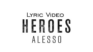 Alesso Heroes We Could Be Feat Tove Lo Official Audio Lyrics Video