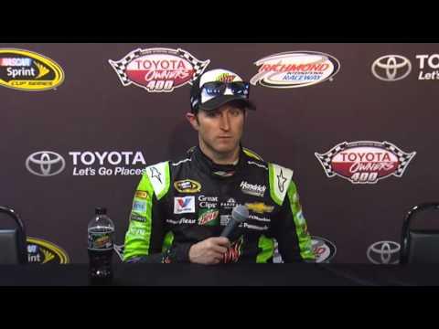NASCAR Media Center RIR interview of Kasey Kahne - Let's Talk Racing TV Show