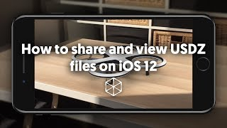 iOS-12 AR-features: Share AR-Dateien via iMessage, E-Mail, für online-shopping