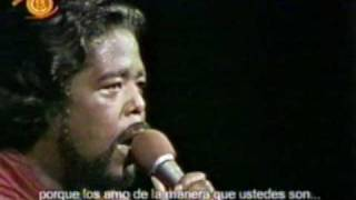 BARRY WHITE EN CHILE - Just the way you
