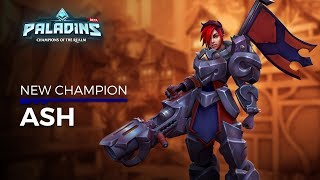 Paladins - Champion Teaser - Ash, The War Machine
