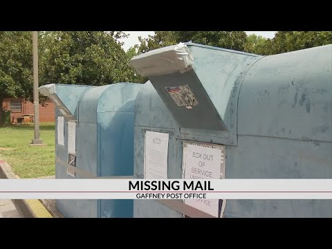 Missing Mail: Gaffney Post Office Drop Boxes Broken Into