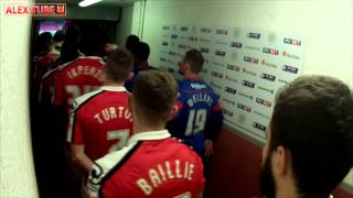 Tunnel Cam: Crewe Alexandra v Doncaster Rovers