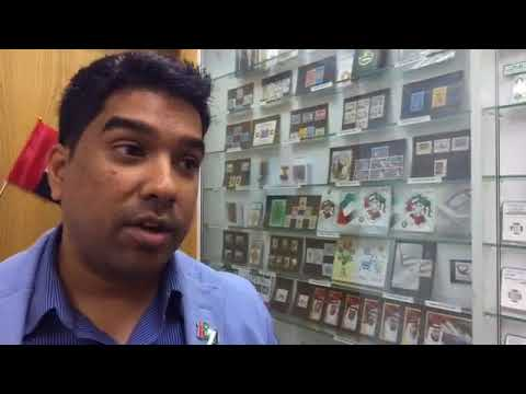 GULF NEWS LIVE for UAE NATIONAL DAY from NUMISBING Dubai Showroom on 30 Nov 2016
