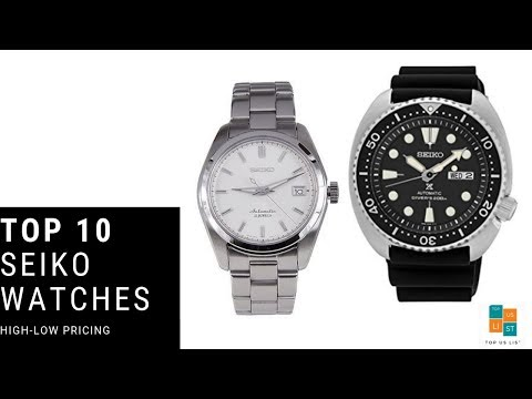 Top 10 Best Seiko Watches To Buy Online At Amazon