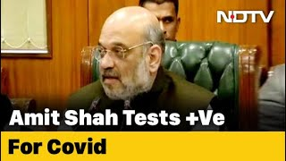 Covid-19 News: Tested Positive For Coronavirus, Hospitalised, Tweets Amit Shah
