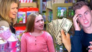 SPOILED KID THINKS SHE'S THE BOSS OF EVERYONE