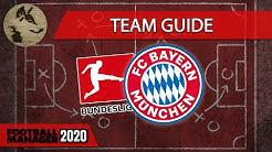 🐺⚽️ FM20 - Bundesliga Teamguides - FC Bayern München - Football Manager 2020