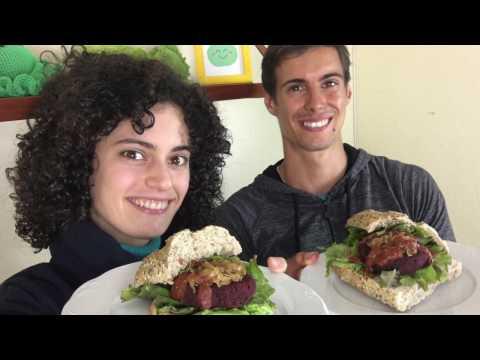 Hamburguesas Veganas de Azuki Ricas en Proteína | Sin Carne | Con Veganeando