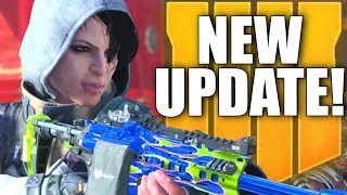 """NEW BLACK OPS 4 UPDATE! Black Market Changes, Zero Nerfed, Blackout """"Numbers"""" Update & More!"""