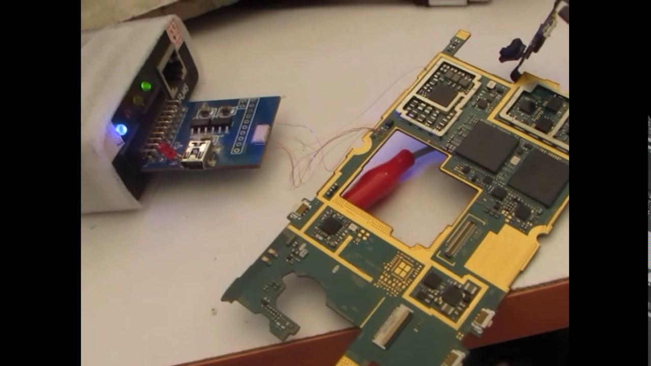 Samsung S4 Mini GT-I9190 Dead Boot Repair Z3X Jtag Box