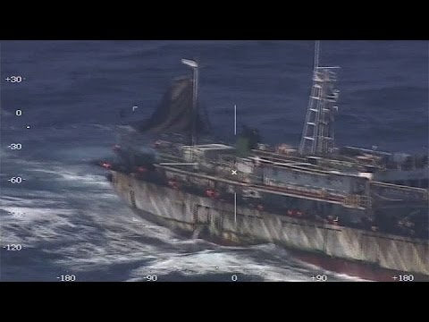 Pesca Iiegal: Prefectura hundió un buque chino y rescató a sus tripulantes