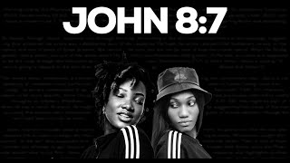Ebony - John 8:7 ft. Wendy Shay (Lyrics Video)