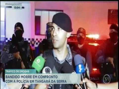 Bandido morre em confronto com polícia em Tangará da Serra