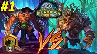 Even Warlock vs Odd Rogue (2 matches) #1