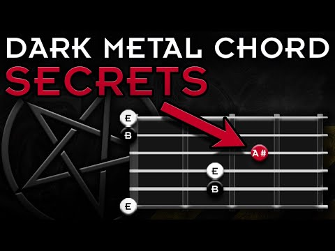 Best DARK Metal Chord | Spice Up Your Evil Chords Now!