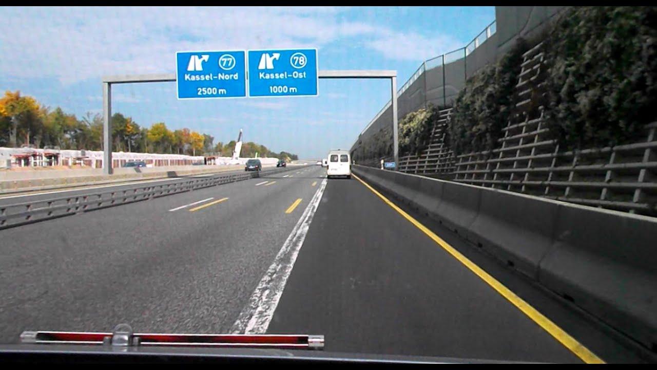 autobahn a7 ausbau 8 streifig 03 10 09 10 2015 youtube