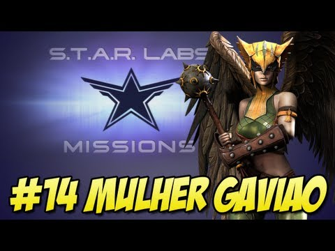 Star Labs #14 - Mulher Gavião Injustice Gods Among Us