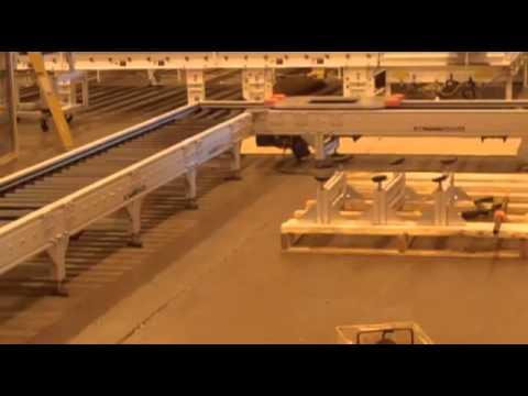 AMC - Modular Roller Conveyor Systems - YouTube