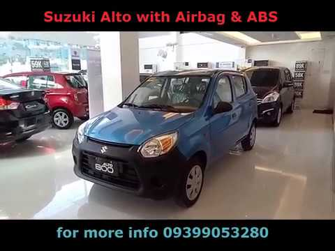 Suzuki Alto with Airbag and ABS - Color Blue