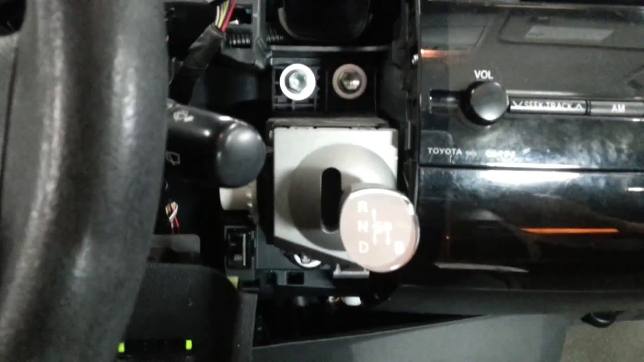 2004 2009 Toyota Prius Shift Lever Replacement Youtube