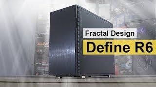 02b9517ee PC skrinka FRACTAL DESIGN Define R6 Black Tempered Glass FD-CA-DEF-R6;  video ...