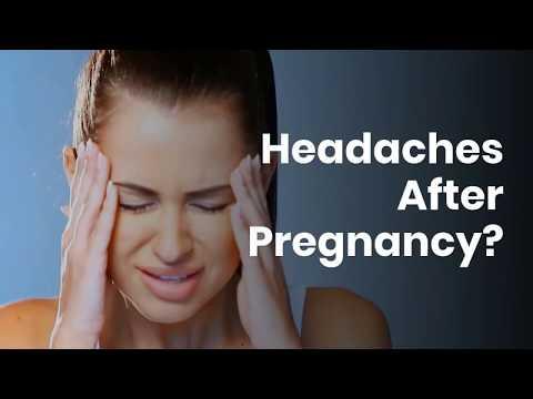 Headaches After Pregnancy?