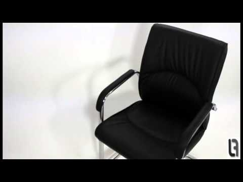 Milano Executive Boardroom Office Chair Black