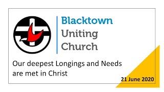 Sunday Worship - 21 June 2020