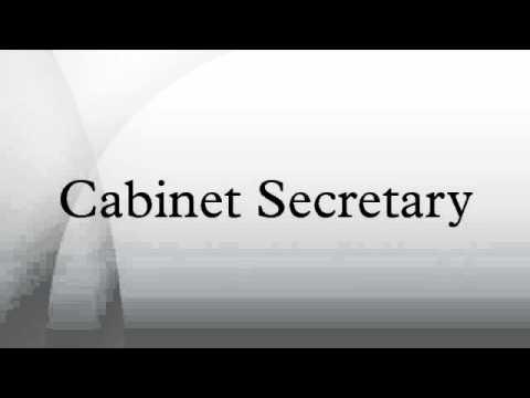 Cabinet Secretary