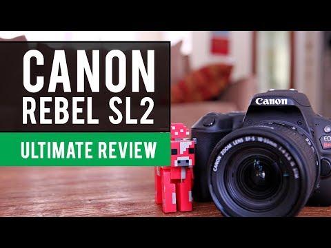 Canon EOS Rebel SL2 Camera: Ultimate Review
