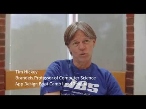 Brandeis Precollege Program - App Design Boot Camp