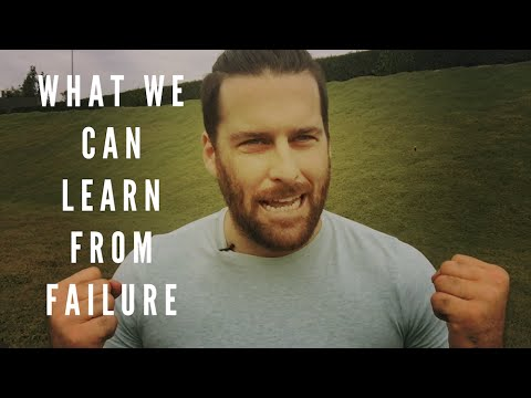 What We Can Learn From Failure