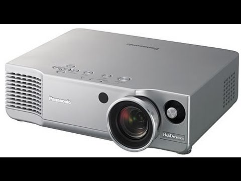 Panasonic PT-AE700U 720p HD video projector